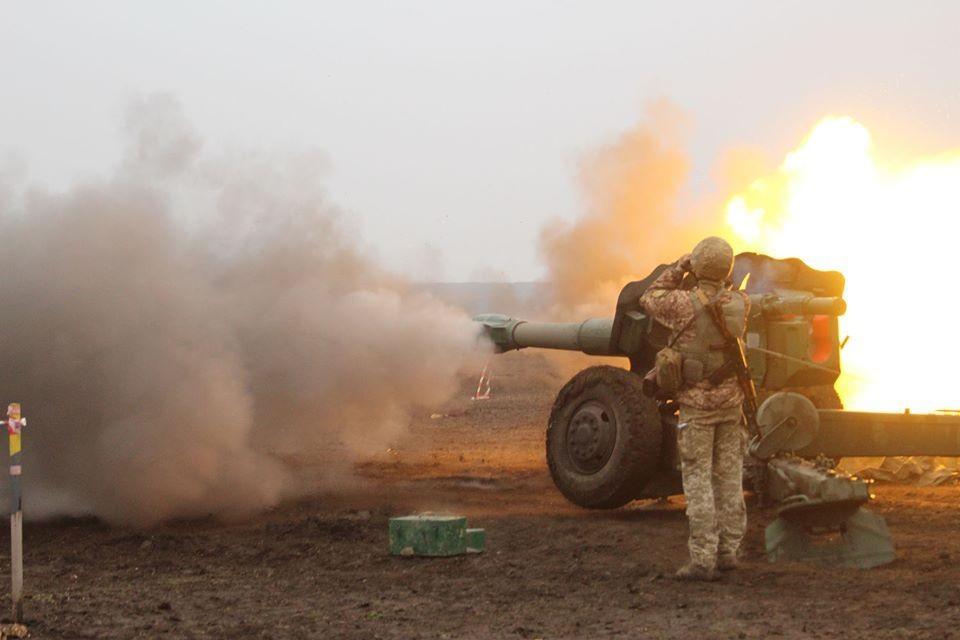 ВСУ открыли огонь по району села Калиновка. Фото: архив пресс-центра штаба ООС