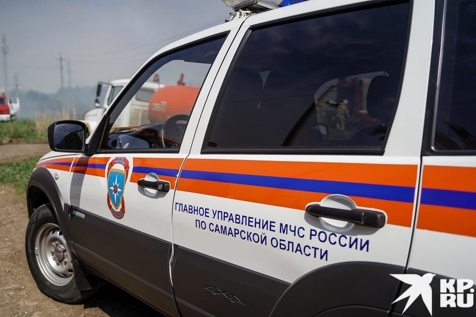 В Самарской области выясняют причины гибели мужчины на пожаре