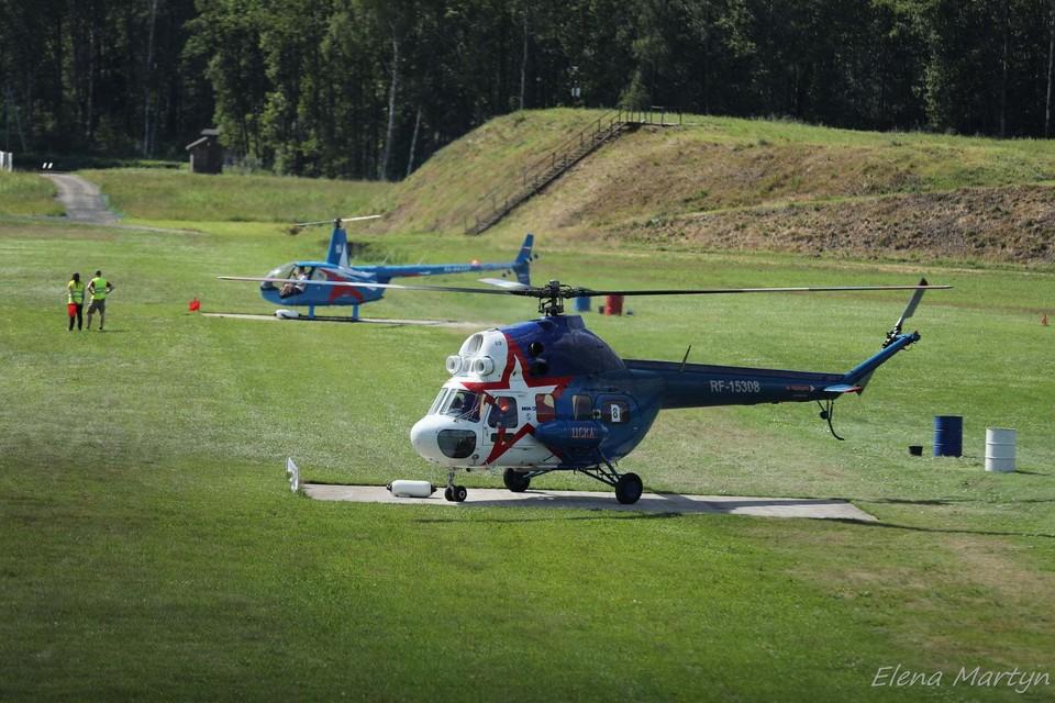 Самарские вертолетчики собрали солидную коллекцию наград на вертолетных гонках