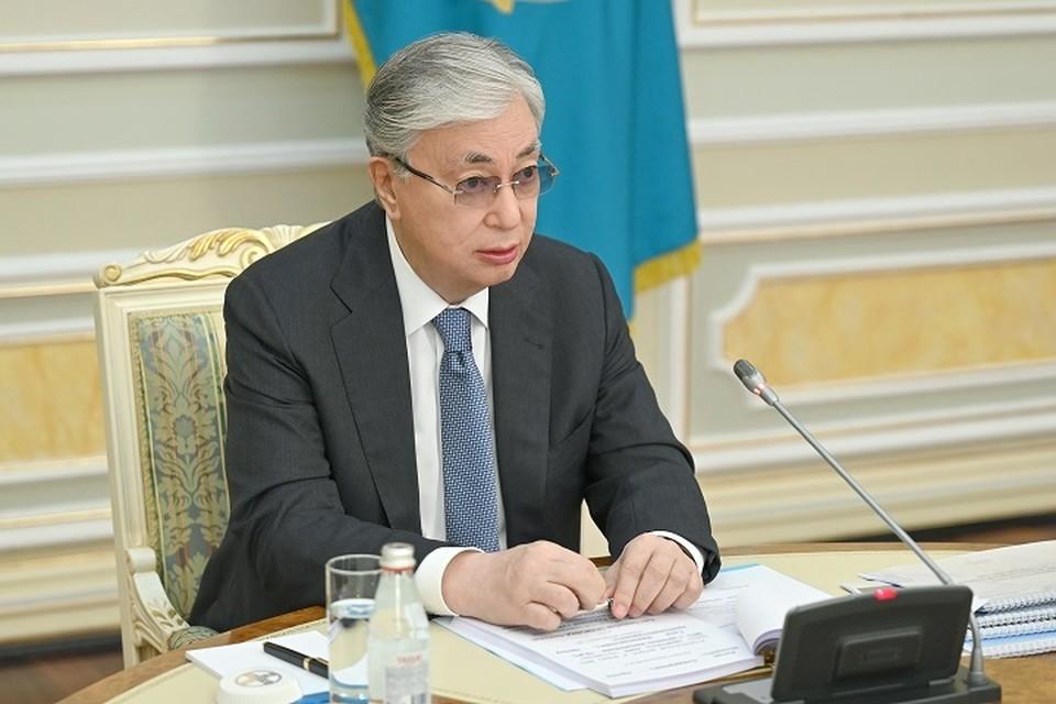 В своем выступлении президент Казахстана отметил, что, несмотря на пандемию и ограничительные меры, в первом полугодии экономика страны выросла на 2,2%.
