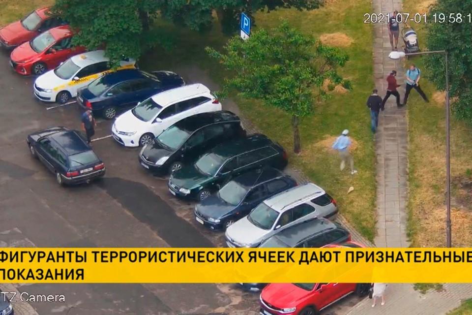 """Телеканал ОНТ анонсировал передачу, в которой будут рассказаны подробности о расследовании дела """"террористических ячеек"""". Фото: кадр из видео ОНТ."""