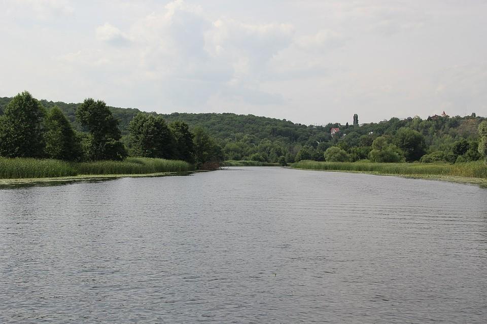 В реке утонул человек