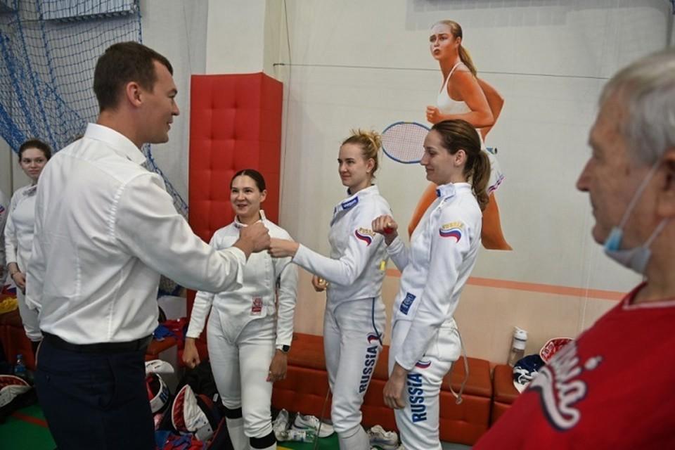 Хабаровск на время стал спортивной столицей Дальнего Востока
