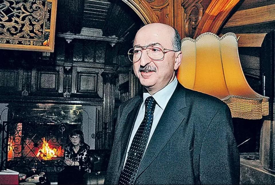 Бизнесмен Давид Якобашвили.