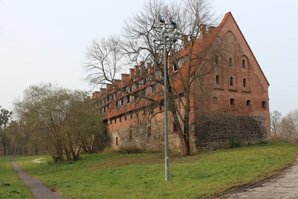 Совершив черное дело, житель Багратионовска укрылся в казематах древнего замка Прейсиш-Эйлау.