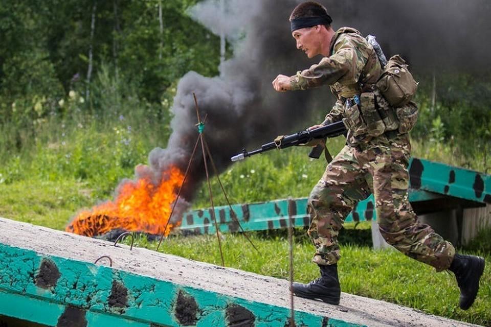 На полигоне Молькино в Краснодарском крае в соревновании, начавшемся 2 июля, принимают участие 26 команд. Фото: gurk.kz