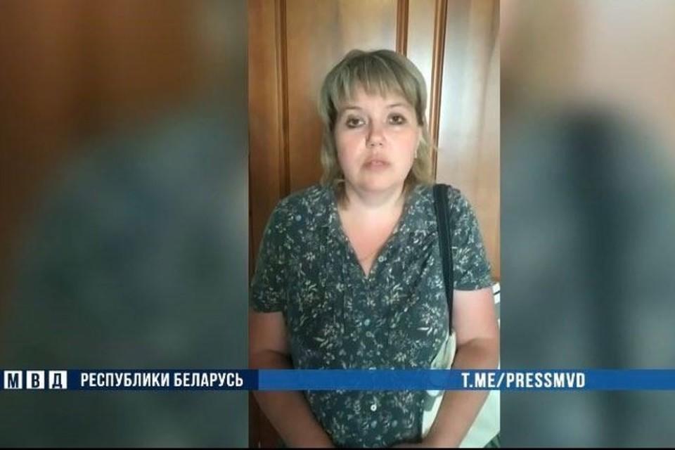 В МВД сообщили, что была установлена еще одна участница несанкционированных мероприятий. Фото: скриншот с видео МВД