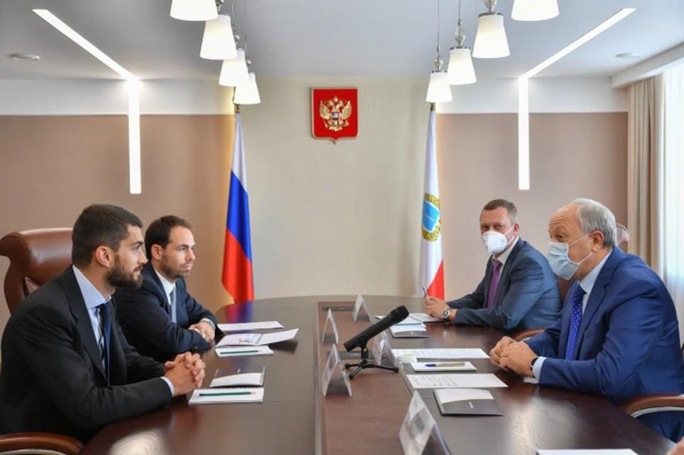 Фото пресс-службы губернатора Валерия Радаева