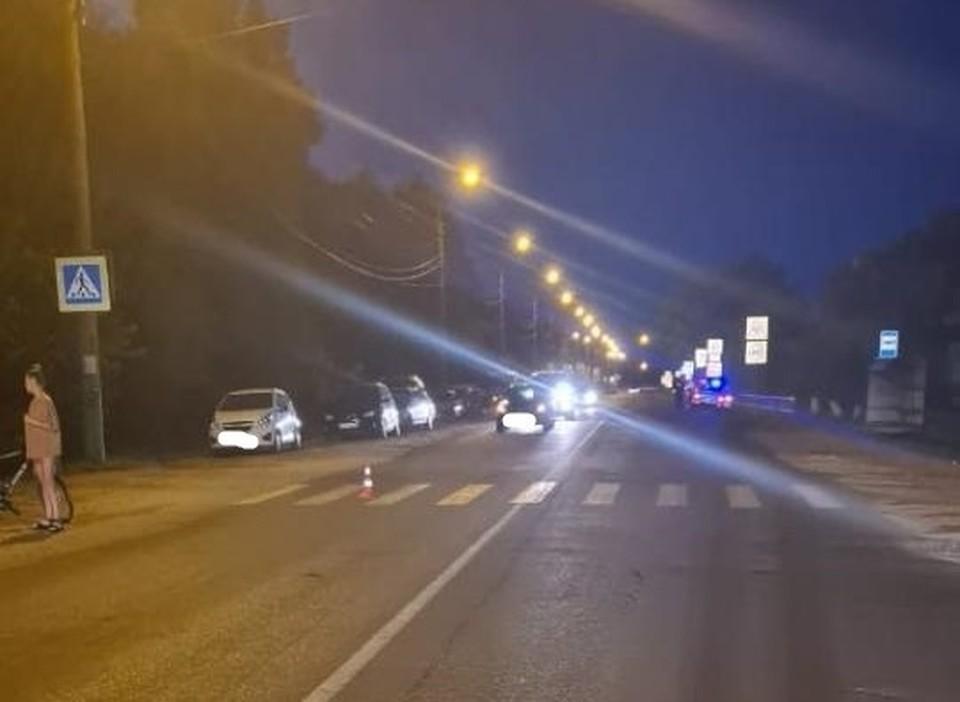 В Мценске неизвестный на машине сбил подростка и скрылся с места ДТП. Фото Госавтоинспекции Орловской области