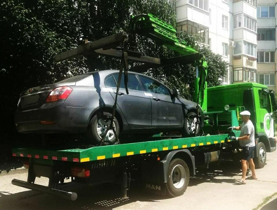 Сейчас машина арестована. Фото пресс-службы УФССП России по Белгородской области.