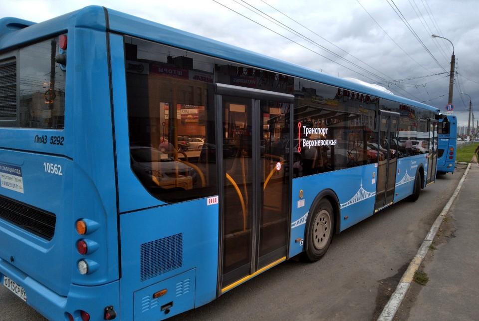 Сначала синие автобусы вышли на дороги Твери и Калининского района, а затем уже модель внедрили еще в четырех агломерациях.