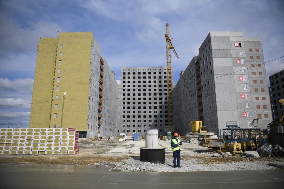 В настоящее время области ведется строительство 179 объектов