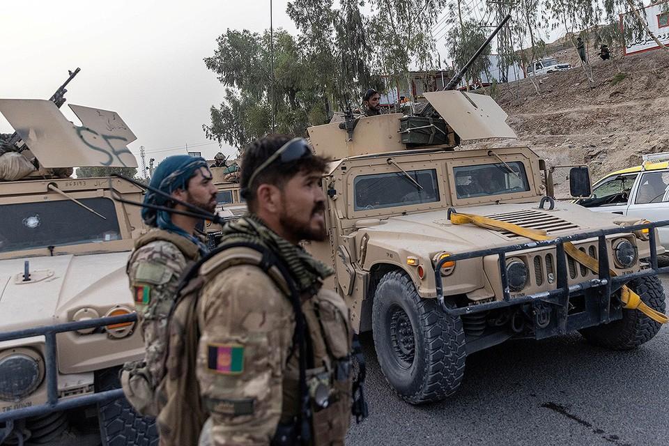 Правительственные войска в провинции Кандагар, Афганистан.