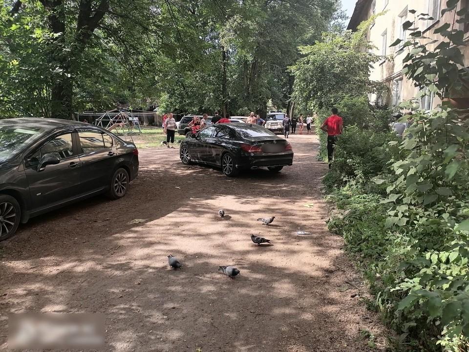 Во дворе жилого дома сбили ребенка Фото: УГИБДД России по Тверской области