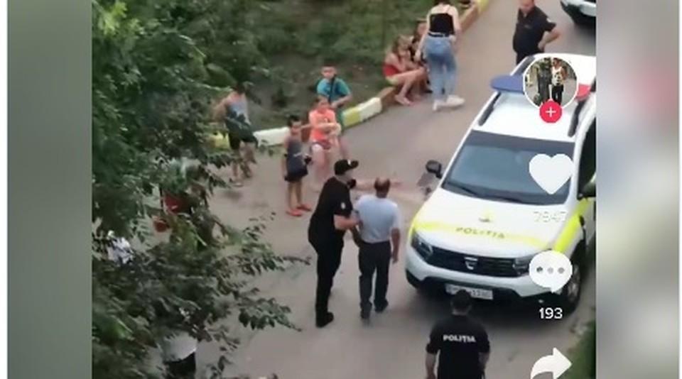 Педофила задержали на 72 часа (Фото: скрин с видео).