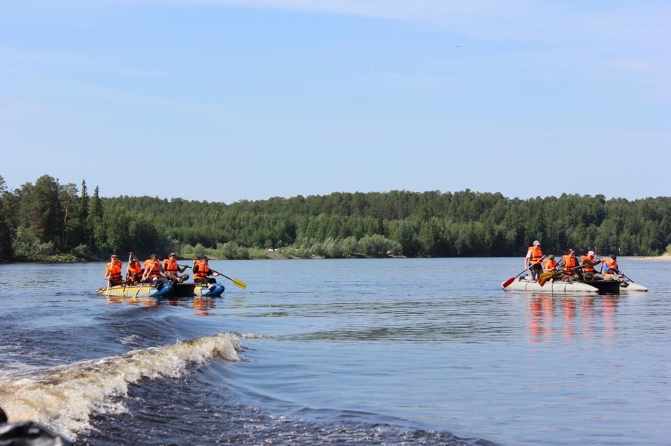 В Сургутском районе состоится молодежный сплав по реке Тромъеган Фото: Администрация Сургутского района