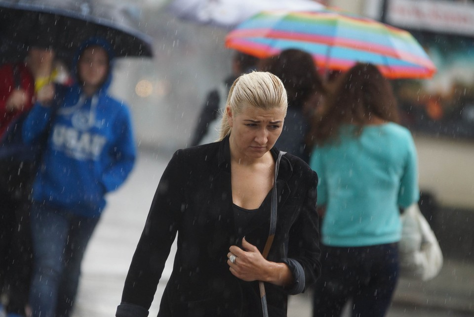 Синоптики прогнозируют дождливую погоду на выходные.