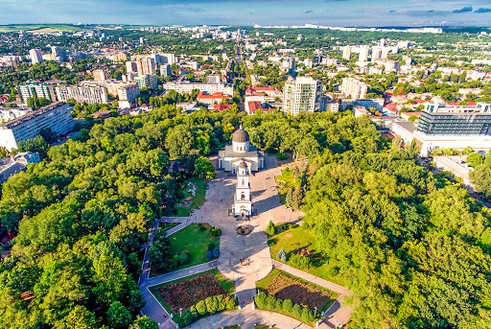 """Кишинев - в """"зеленой"""" зоне эпидемиологической опасности. Фото: соцсети"""
