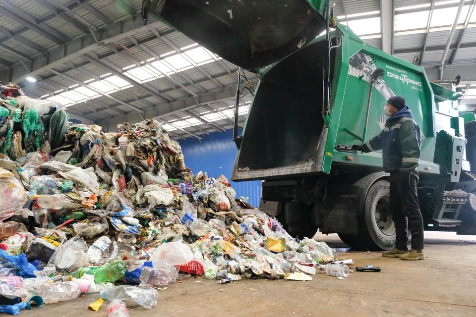 Смольный объявил конскурс на поиск единого мусорного оператора.