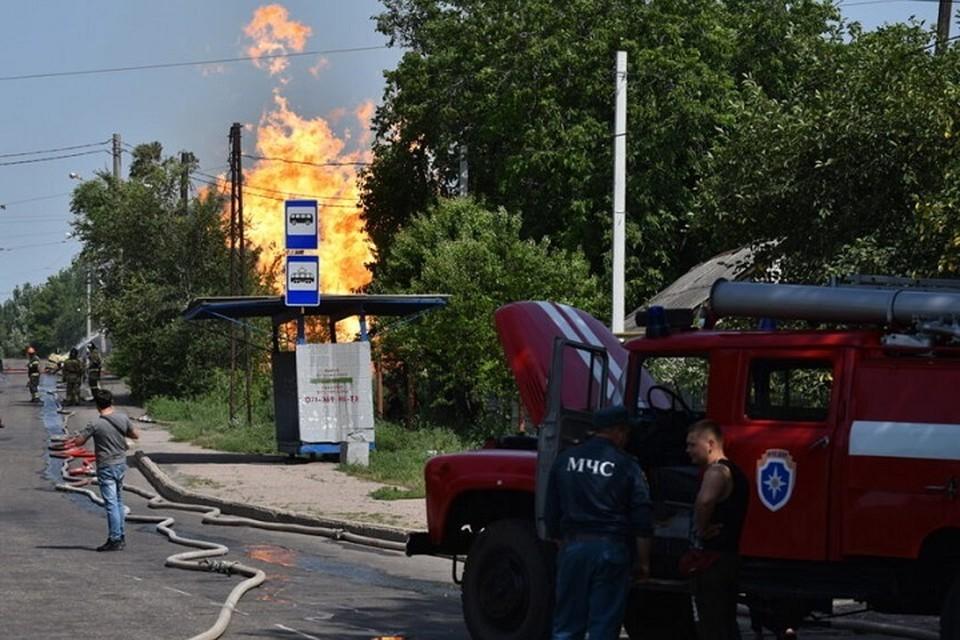 Возгорание ликвидировано. Фото: ДАН