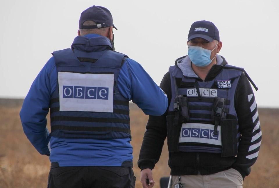 ВСУ продолжают препятствовать ОБСЕ