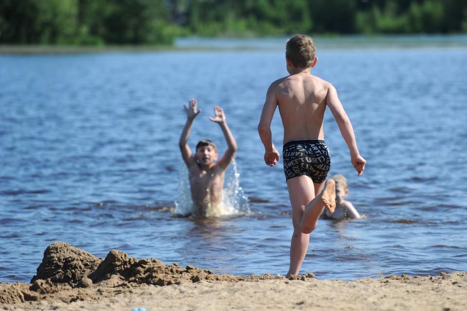 Вода в Финском заливе в Петербурге прогрелась до 27 градусов