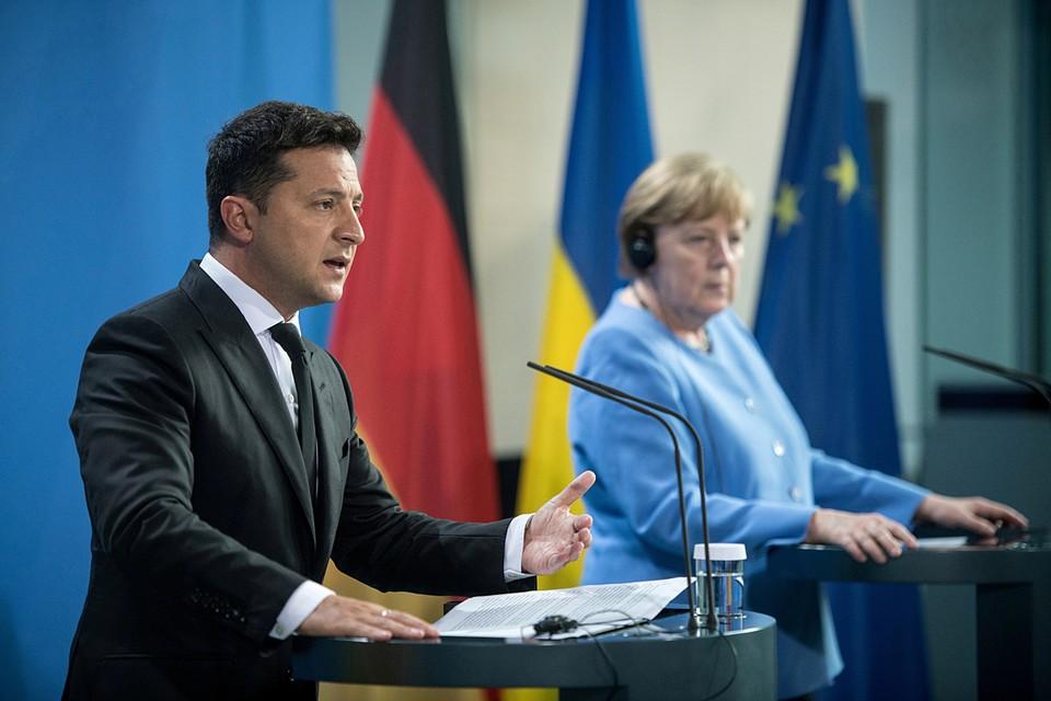 Зеленский недавно в Германии побывал. И Германию теперь чуть не смыло