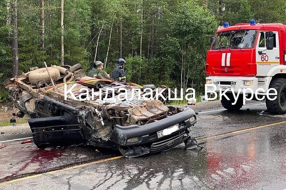 Водитель Toyota погиб на месте. Фото: vk.com/kandvkurse
