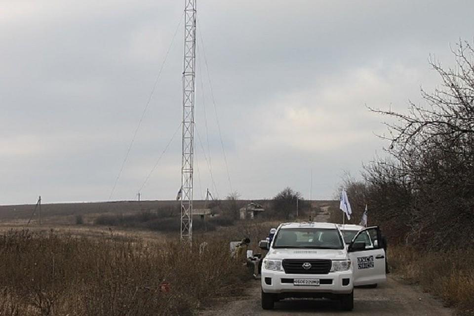 Украинская армия продолжает препятствовать работе ОБСЕ
