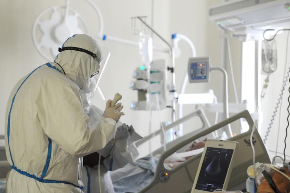 В инфекционные стационары госпитализированы более 3500 заболевших, из них в тяжелом состоянии находятся более 150 человек.