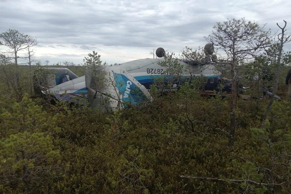 Аварийная посадка Ан-28 в Томской области потрясла всю страну. Фото: Сибирский авиационный поисково-спасательный центр