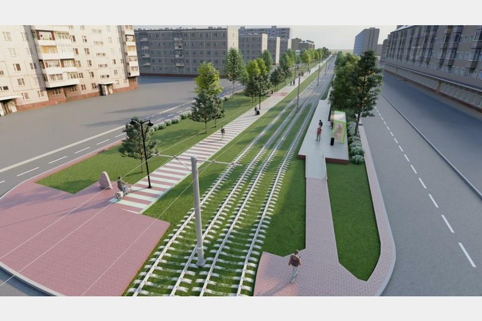 В Смоленске показали варианты благоустройства бульвара 30-летия Победы. Фото: администрация Смоленска.