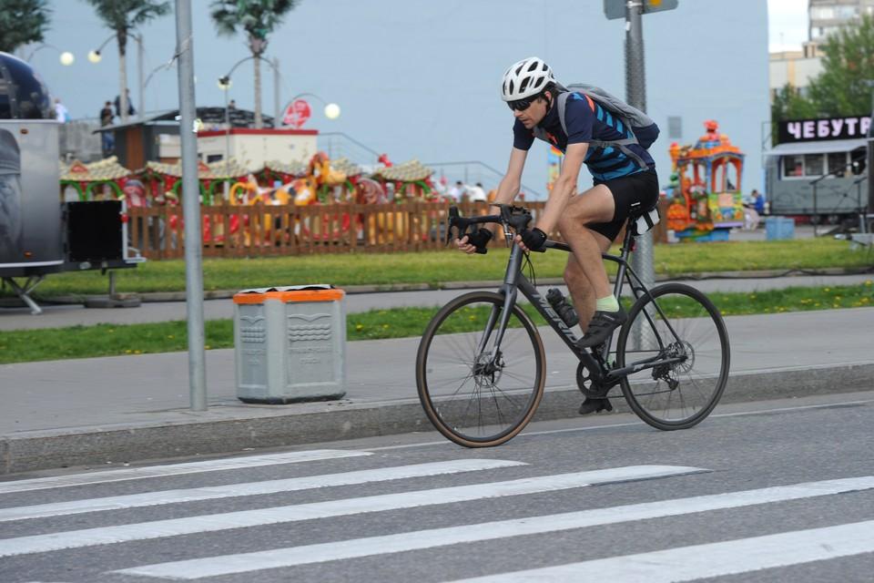 37 % петербуржцев хотели бы регулярно ездить на работу на велосипеде.
