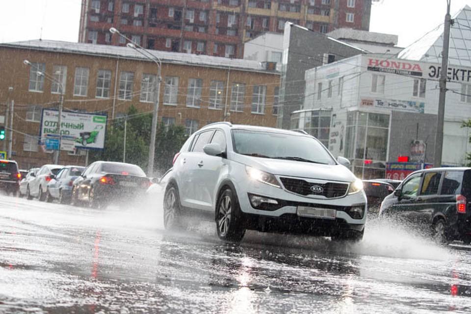В среду в Башкирии пройдут ливни, а местам - град