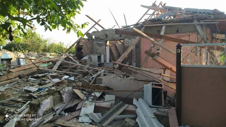 Дом оказался сильно разрушен (Фото: ГИЧС).