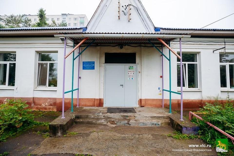 Детский сад нуждается в ремонте. Фото: Евгений Кулешов.