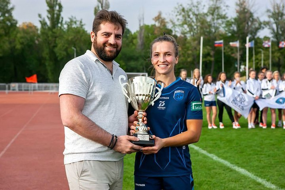 Алина Артерчук Фото: rugby.ru