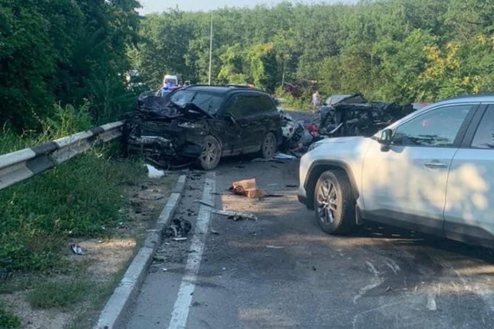 Авария унесла человеческие жизни. Фото: пресс-служба МВД по Республике Крым