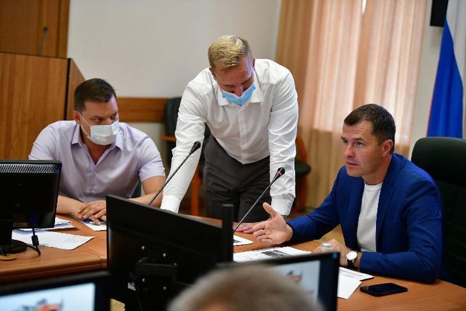Мэр обсудил подготовку к предстоящему зимнему сезону. Фото: страница ВКонтакте Владимира Волкова