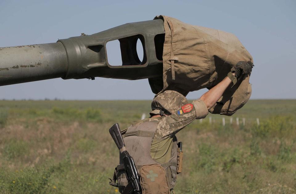 Даже во время переговоров украинская сторона не прекращает обстрелов. Фото: штаб ООС