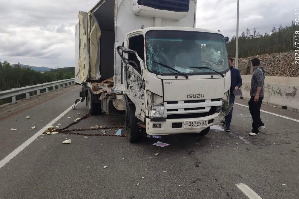 В ДТП пострадал водитель Isuzu. Фото: vk.com/club183127064
