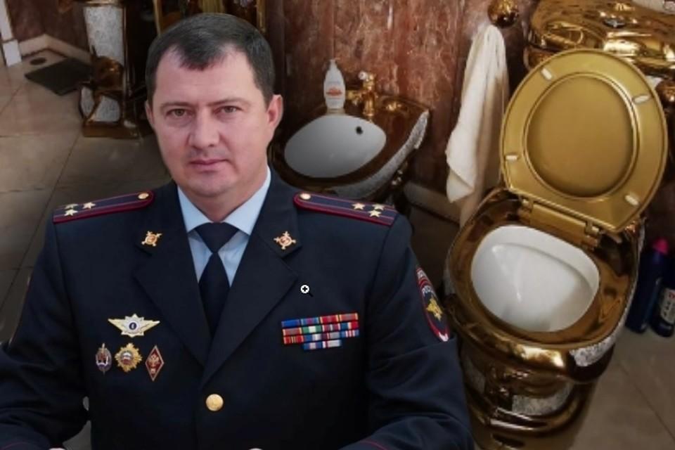 Золотой унитаз и личный трон: как выглядит дом задержанного начальника  ГИБДД Ставрополья