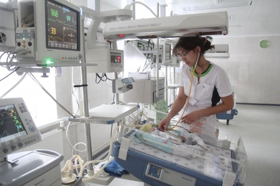 В РДКБ с диагнозом «Новая короновирусная инфекция» поступают новорожденные дети