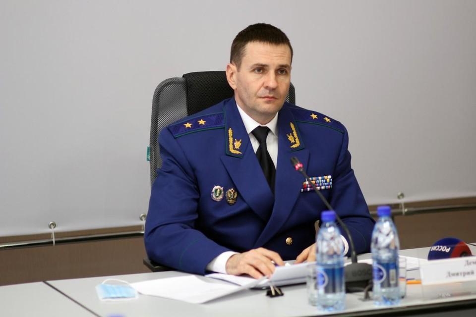 Дмитрий Демешин приехал в Омск с официальным визитом. Фото: epp.genproc.gov.ru
