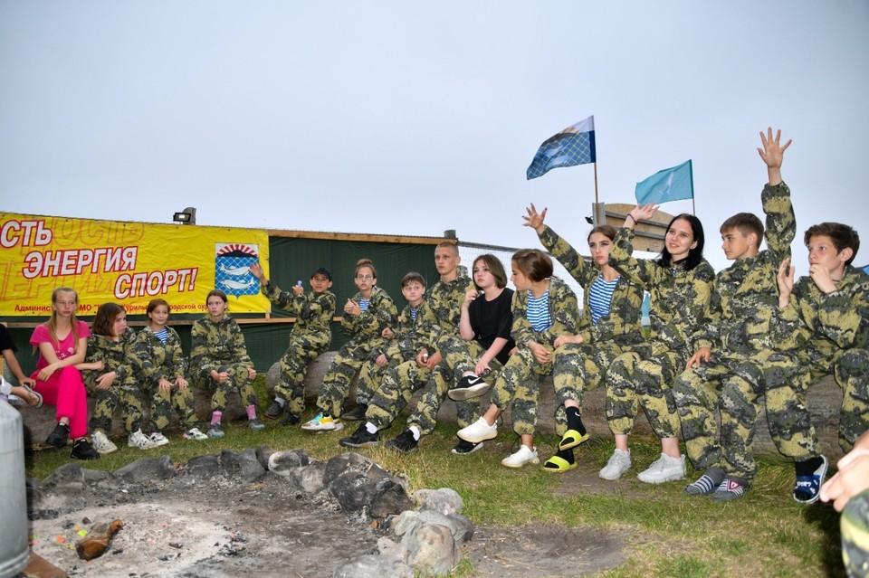 Стартовала первая смена в краеведческом детском палаточном лагере «Фрегат» на острове Кунашир