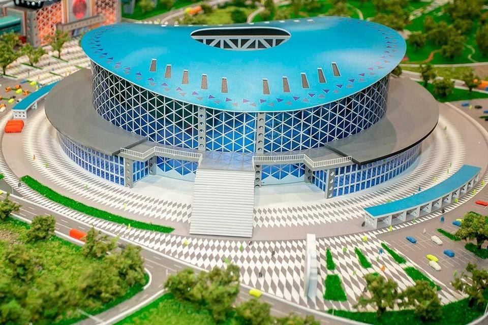 Новый ледовый дворец украсит левый берег. Фото: Заксобрание Новосибирской области http://zsnso.ru/