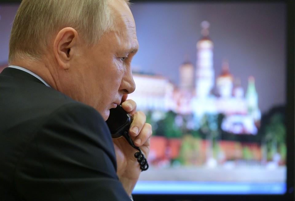 Состоялся телефонный разговор Ангелы Меркель и Владимира Путина.