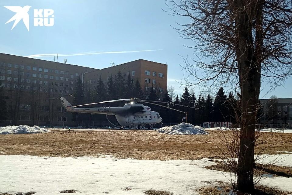 На базе детской областной клинической больницы планируется создать подразделение детской санитарной авиации