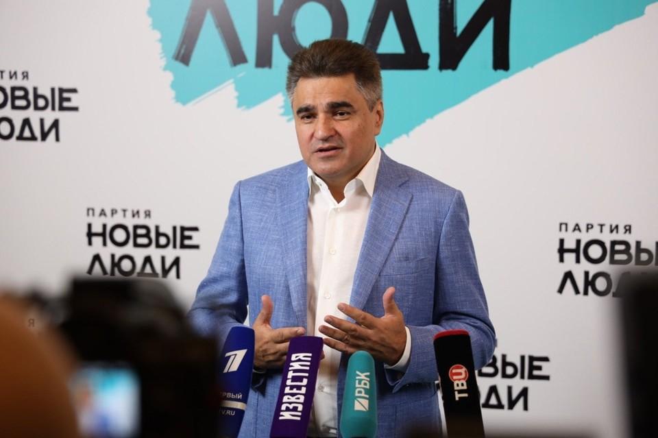 """Фото предоставлено пресс-службой партии """"Новые люди"""""""