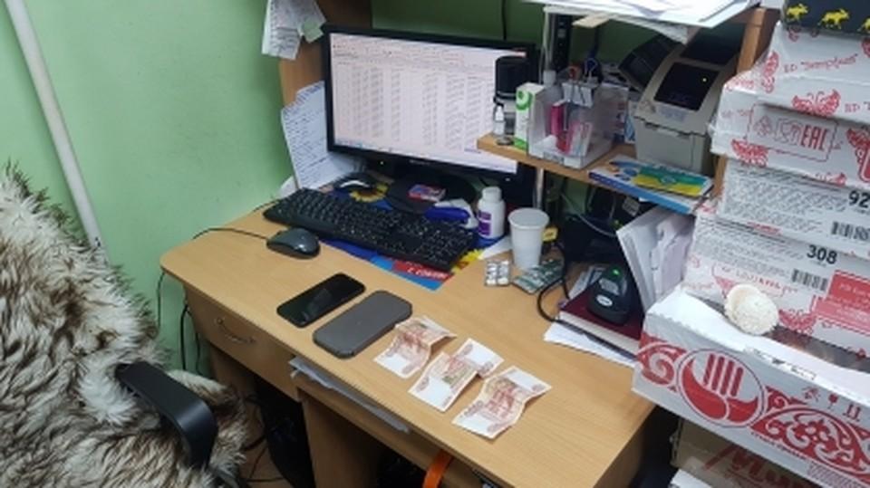 В Сургуте задержан предприниматель, который пытался дать взятку судебному приставу Фото: СУ СК РФ по ХМАО-Югре